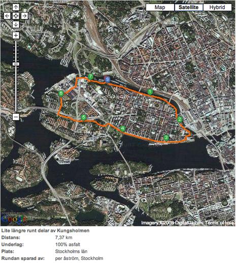Karta från Jogg.se