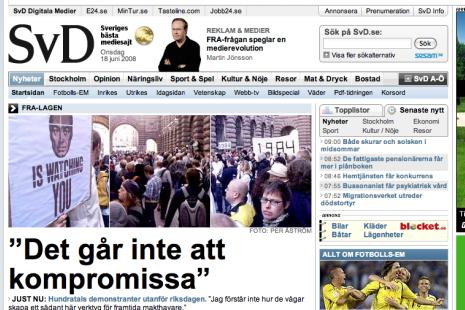 SvD.se, onsdag 18 juni